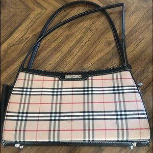 Burberry Shoulder Bag Double Strapped Vintage